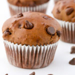 Easy Double Chocolate Muffins | Recipe at EverydayEasyEats.com