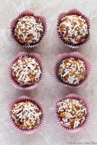 No-Bake Cranberry Coconut Energy Bites