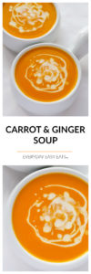 Carrot & Ginger Soup