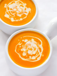 Coconut Carrot Soup (Vegan, Whole30, Paleo)