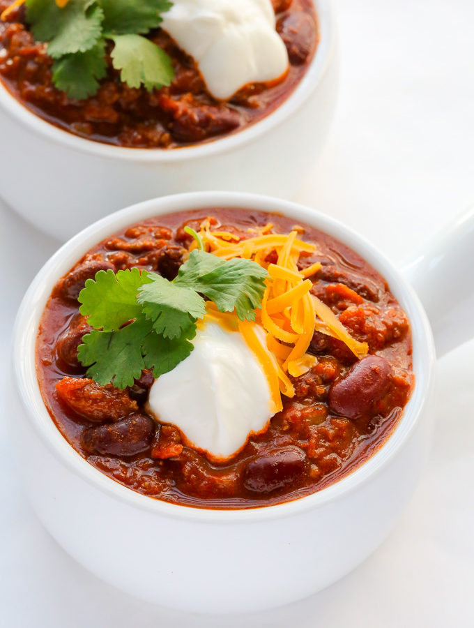 One-pot Classic Beef Chili (Chili con Carne)
