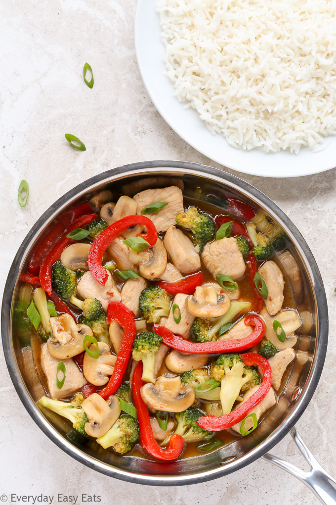 Healthy Chicken and Vegetable Stir-Fry