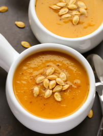 Spiced Butternut Squash Soup (Vegan, Whole30, Paleo)