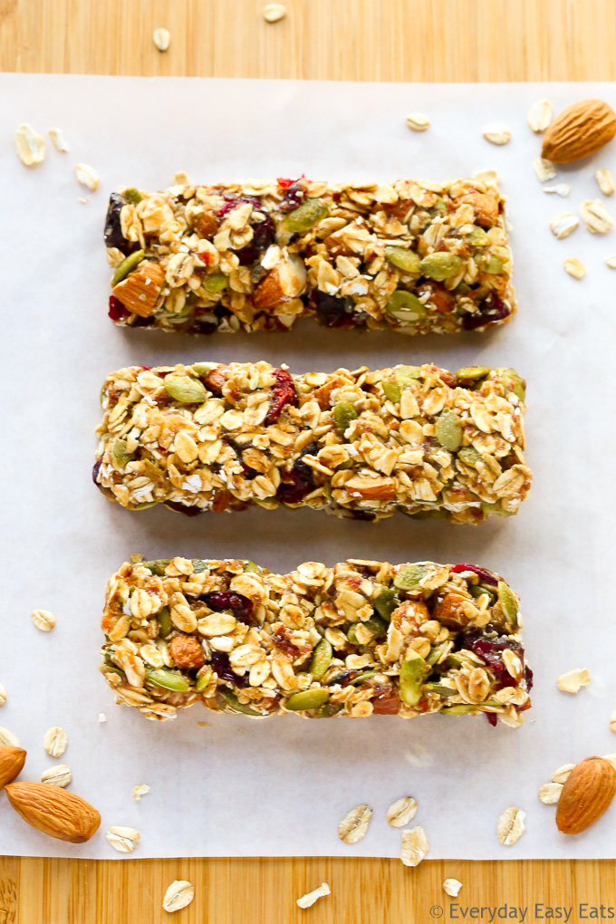 Healthy No-Bake Granola Bar Recipes: Fruit and Nut Granola Bars