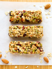 Healthy Fruit & Nut Granola Bars