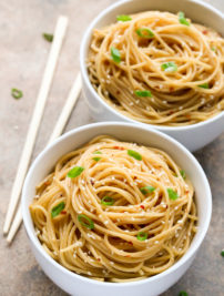 Chinese Sesame Noodles