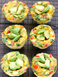 Breakfast Egg Muffins (Keto, Low Carb)