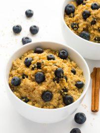 Breakfast Quinoa Bowls (Vegan, GF)