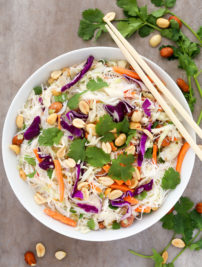 Thai Noodle Salad with Coconut-Lime Dressing