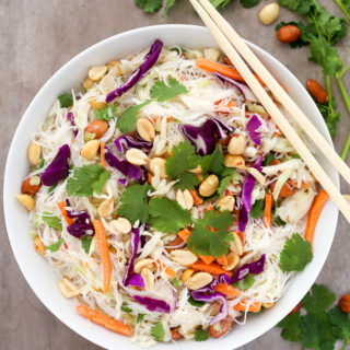 Easy Thai Noodle Salad with Coconut-Lime Dressing