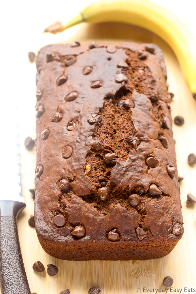 Best-Ever Moist Chocolate Banana Bread