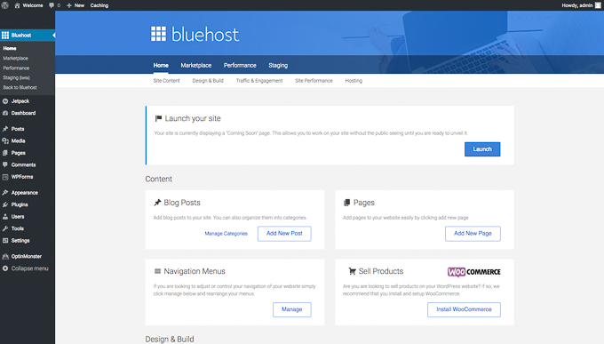 How to Start a Blog - A Step-by-Step Guide: Launch WordPress website with Bluehost