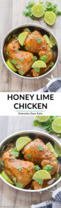 Easy Honey Lime Chicken Recipe | EverydayEasyEats.com