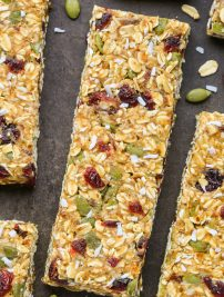 Healthy Nut-Free Granola Bars (No-Bake)