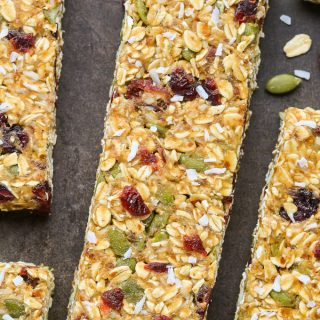 Healthy Nut-Free Granola Bars (Easy No-Bake Recipe)