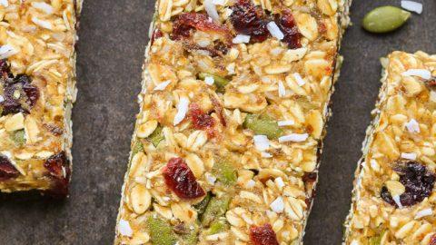 Healthy Nut-Free Granola Bars
