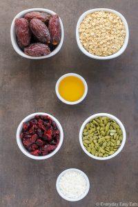 Healthy No-Bake Nut-Free Granola Bars | Recipe at EverydayEasyEats.com