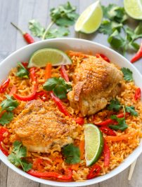 Thai Spicy Chicken and Rice
