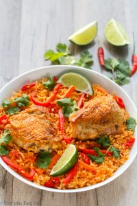 Thai Chicken and Rice | Recipe at EverydayEasyEats.com