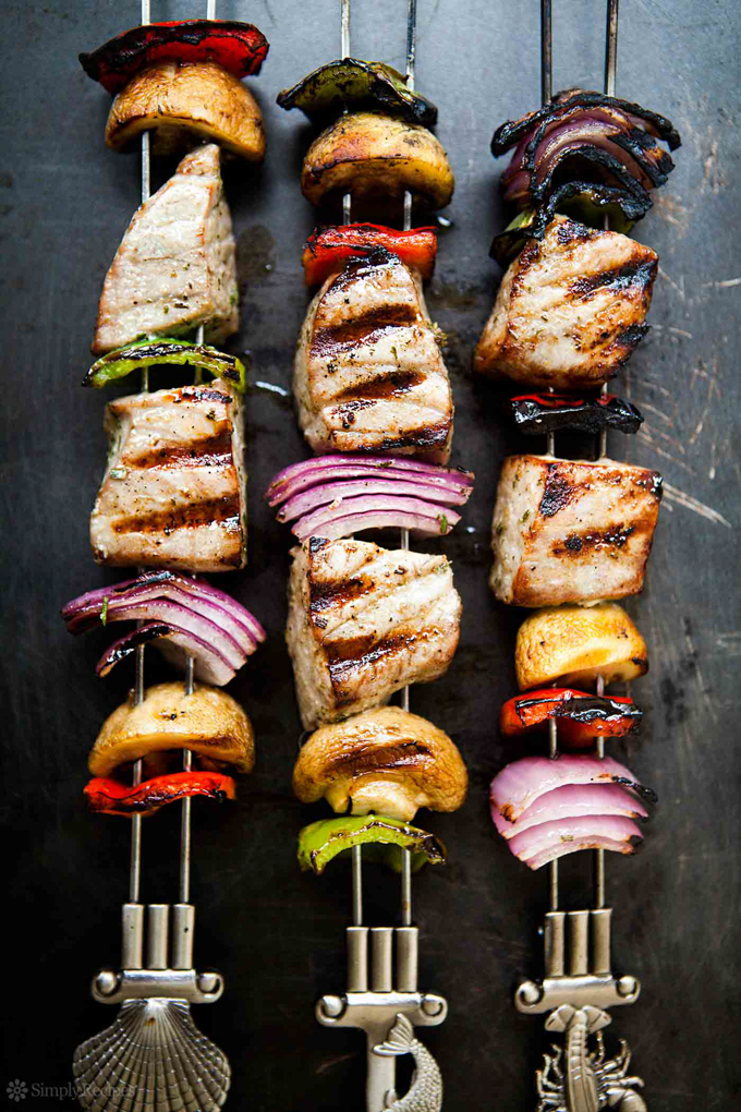 The Best Online Seafood Delivery Services: Grilled Tuna Kebabs