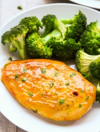 Baked Honey Mustard Chicken Breasts