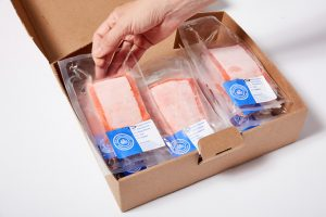 Box of Wild Alaskan Company Salmon