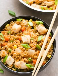 Chinese Chicken Fried Rice (Better than Takeout!)