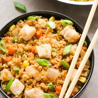 Easy Chicken Fried Rice (Better than Takeout!)