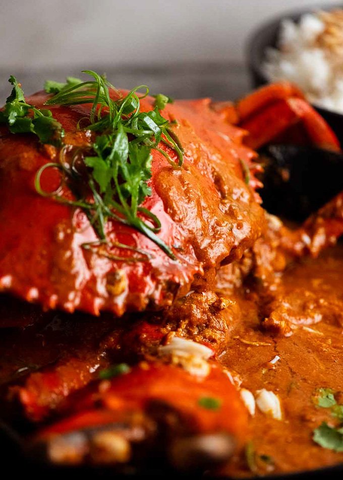 The Best Wild Seafood Delivery Services: Singapore Chilli Crab