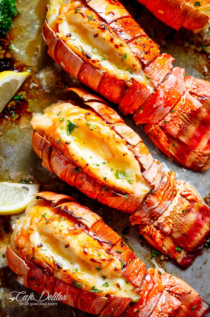 The Best Online Seafood Delivery Services: Broiled Lobster Tails