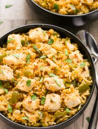 One-Pot Cajun Chicken and Rice