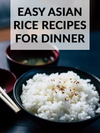 Easy Asian Rice Recipes for Dinner