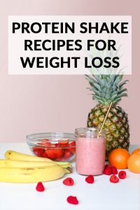 Protein Shake Recipes for Weight Loss