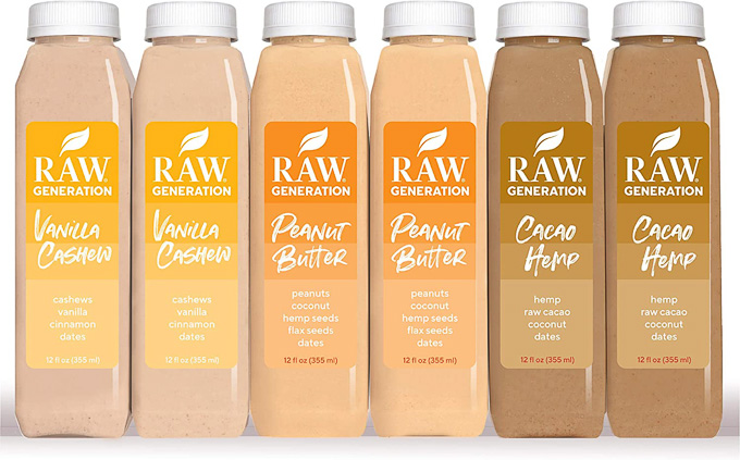 The Best Protein Shake Delivery Services Online: Raw Generation Pre-Made Protein Smoothies