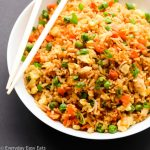 Easy Asian Rice Recipes for Dinner image with title text overlay.