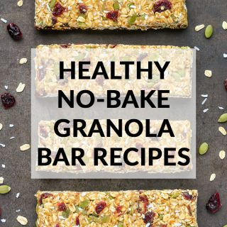 5 Easy & Healthy No-Bake Granola Bar Recipes