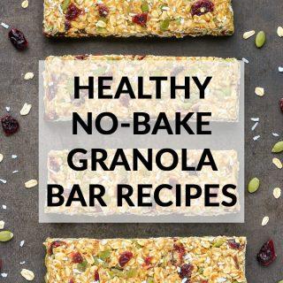 Healthy No-Bake Granola Bar Recipes
