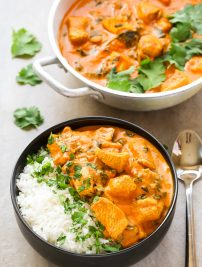 Indian Coconut Chicken Curry (Whole30, Paleo, GF)