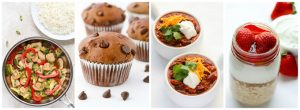 Everyday Easy Eats About Page: Food Photo Collage